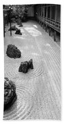 Japanese Zen Garden Beach Towel