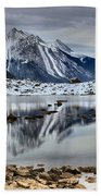 Jasper Medicine Lake Reflections Beach Towel