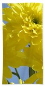 Yellow Trio Beach Towel