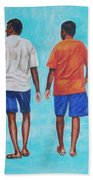 Jay Walkers Beach Towel