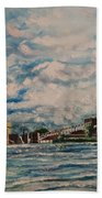 J.c. Weadock Plant Beach Towel by Rosemary Kavanagh