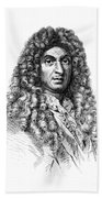 Jean-baptiste Lully, French Composer Beach Towel