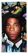 Jean, Michel, Basquiat II Beach Towel