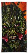 Jeepers Creepers  Beach Towel