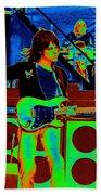 Live In Concert 1976 Beach Towel