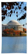 Jefferson In Splendor Beach Towel