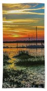 Jekyl Island Sunset Beach Sheet