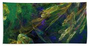 Jelly Fish  Diving The Reef Series 1 Beach Towel