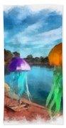 Jellyfish Beach Towel