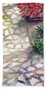 Jennifers Garden Beach Towel