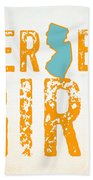 Jersey Girl Beach Towel