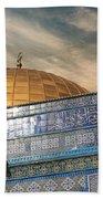 Jerusalem - Dome Of The Rock Sky Beach Towel