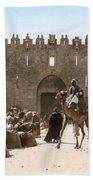 Jerusalem: Caravan, C1919 Beach Towel