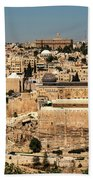 Jerusalem Beach Towel