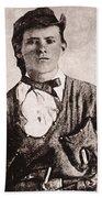 Jesse James (1847-1882) Beach Towel