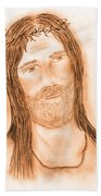 Jesus In The Light Beach Towel