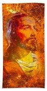 Jesus Beach Towel