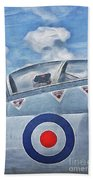 Jet Fighter By John Springfield Beach Towel