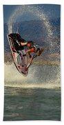 Jetski Flip Beach Sheet