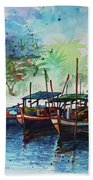 Jetty_01 Beach Towel