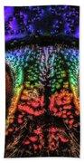 Jewel Beetle Detail Beach Towel