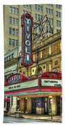 Jewel Of The South Tivoli Chattanooga Historic Theater Art Beach Towel