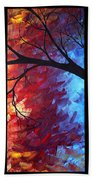 Jewel Tone II By Madart Beach Towel