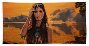 Jewels Of Costa Rica Beach Towel