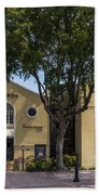 Jewish Museum Of Florida  Beach Towel