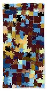 Jigsaw Abstract Beach Towel