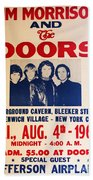 Jim Morrison And The Doors Poster Collection 3 Beach Towel