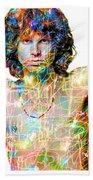 Jim Morrison The Doors Beach Towel