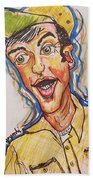 Jim Nabors Beach Towel