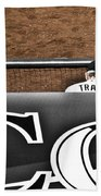 Jim Tracy Rockies Manager Beach Towel