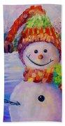 Jingle Bell II Beach Towel