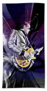 Joe Bonamassa Art Beach Towel