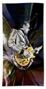 Joe Bonamassa Blues Guitarist Beach Towel