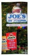 Joe's On Juniper Beach Towel