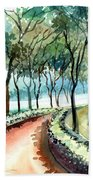 Jogging Track Beach Towel