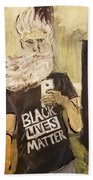 John Brown Selfie  Beach Towel
