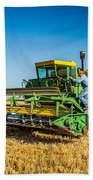 John Deere 6600 Beach Towel