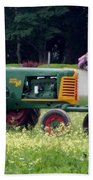 John Deere Beach Towel