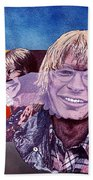John Denver Beach Towel
