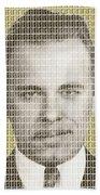 John Dillinger Mug Shot - Gold Beach Towel