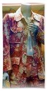 John Entwistle's Tie Died Suede Suit Beach Sheet