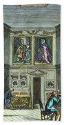 John Flamsteed, C. 1700 Beach Towel