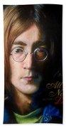 John Lennon - Wordsmith Beach Towel