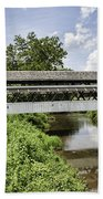 Johnston Covered Bridge Beach Towel