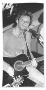 Jon Bon Jovi Acoustic Beach Towel