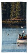 Jonespot, Maine  Beach Towel